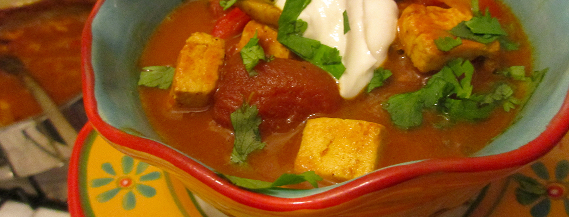 curried tofu chili