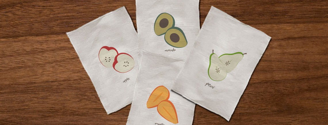 Fruitveggie-towels